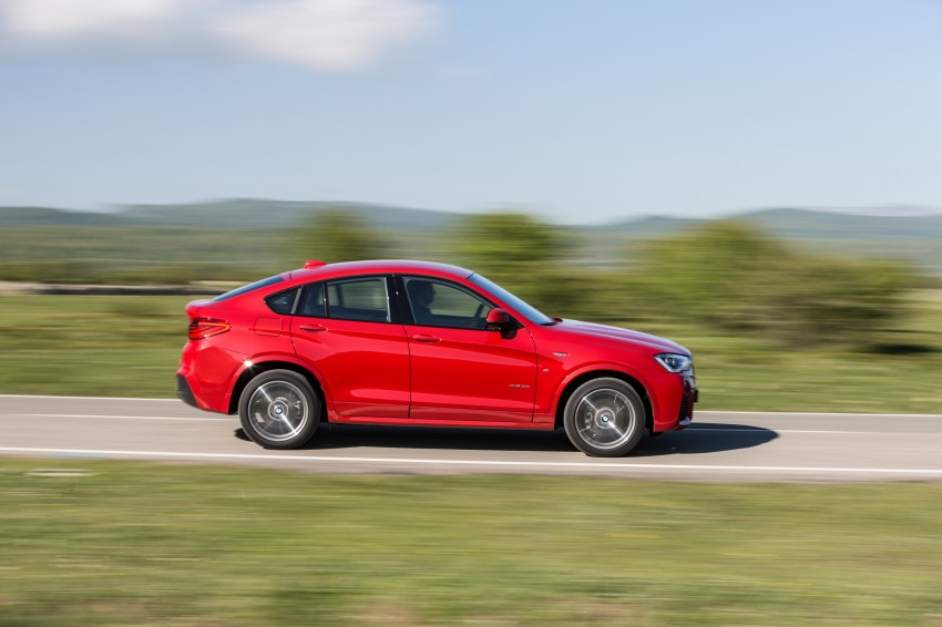 DRIVEN: F26 BMW X4 – the X3 redrawn as a 'coupe' Image #250154