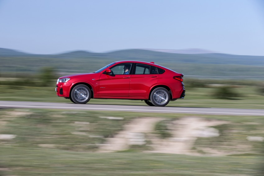 DRIVEN: F26 BMW X4 – the X3 redrawn as a 'coupe' Image #250158