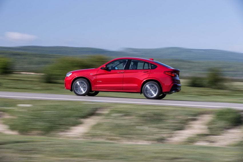 DRIVEN: F26 BMW X4 – the X3 redrawn as a 'coupe' Image #250153