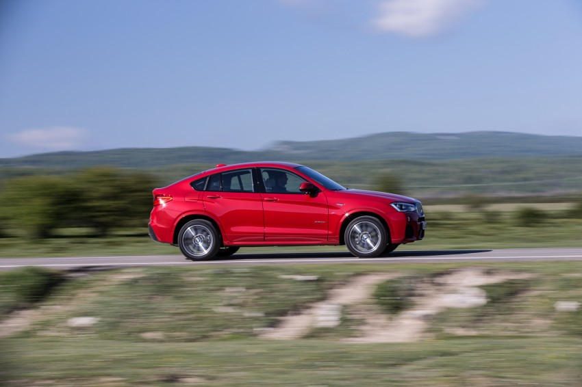 DRIVEN: F26 BMW X4 – the X3 redrawn as a 'coupe' Image #250156