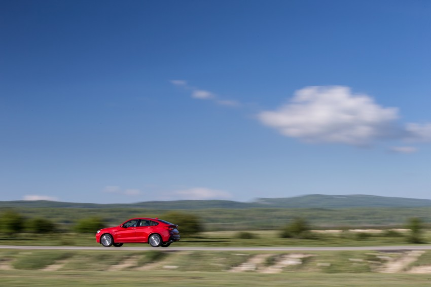 DRIVEN: F26 BMW X4 – the X3 redrawn as a 'coupe' Image #250159