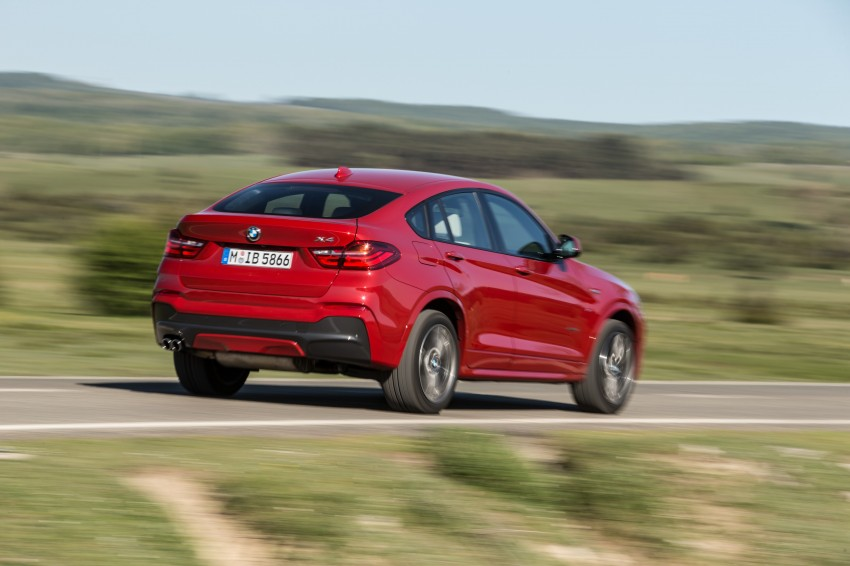 DRIVEN: F26 BMW X4 – the X3 redrawn as a 'coupe' Image #250155