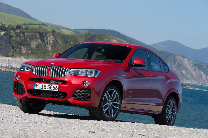 DRIVEN: F26 BMW X4 – the X3 redrawn as a 'coupe' Image #250053