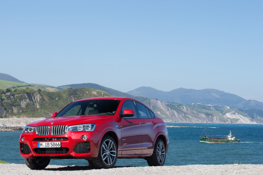 DRIVEN: F26 BMW X4 – the X3 redrawn as a 'coupe' Image #250103