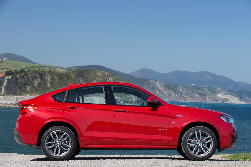DRIVEN: F26 BMW X4 – the X3 redrawn as a 'coupe' Image #250061