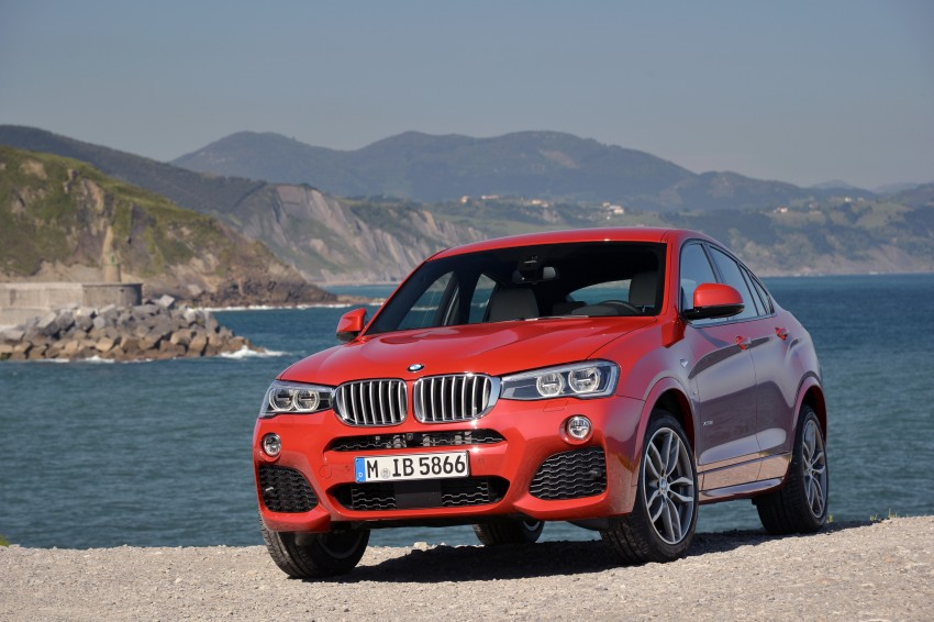 DRIVEN: F26 BMW X4 – the X3 redrawn as a 'coupe' Image #250056