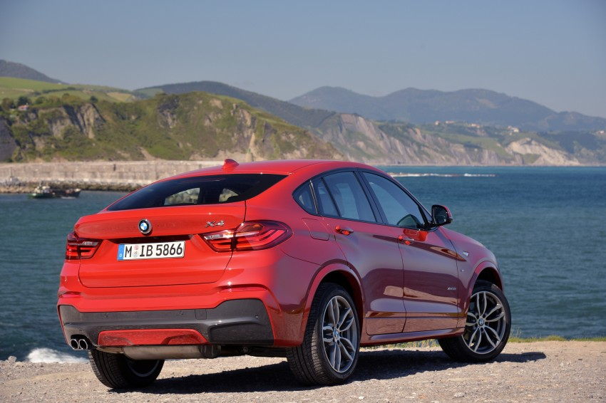 DRIVEN: F26 BMW X4 – the X3 redrawn as a 'coupe' Image #250082