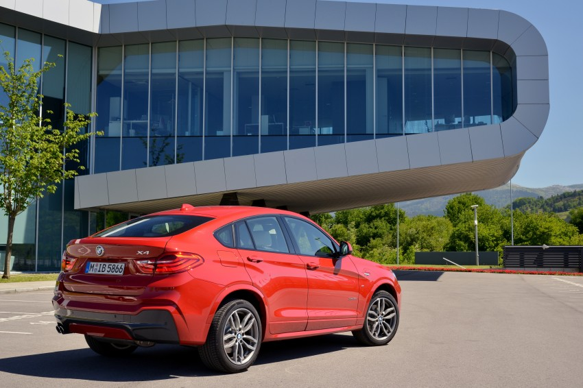 DRIVEN: F26 BMW X4 – the X3 redrawn as a 'coupe' Image #250026