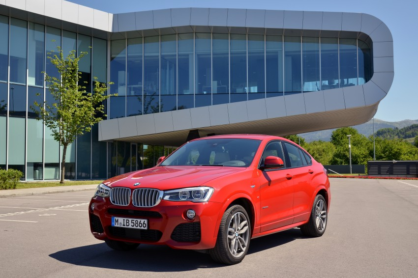 DRIVEN: F26 BMW X4 – the X3 redrawn as a 'coupe' Image #250027