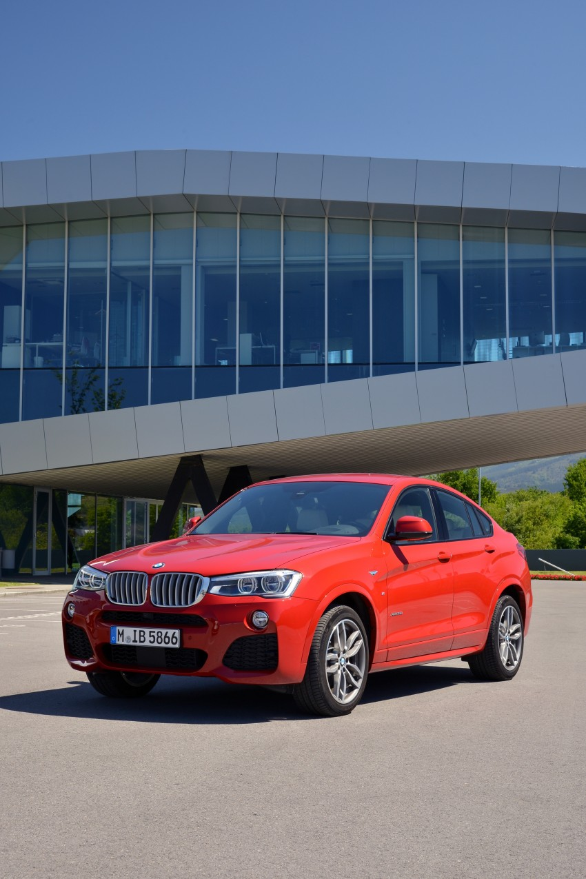 DRIVEN: F26 BMW X4 – the X3 redrawn as a 'coupe' Image #250032
