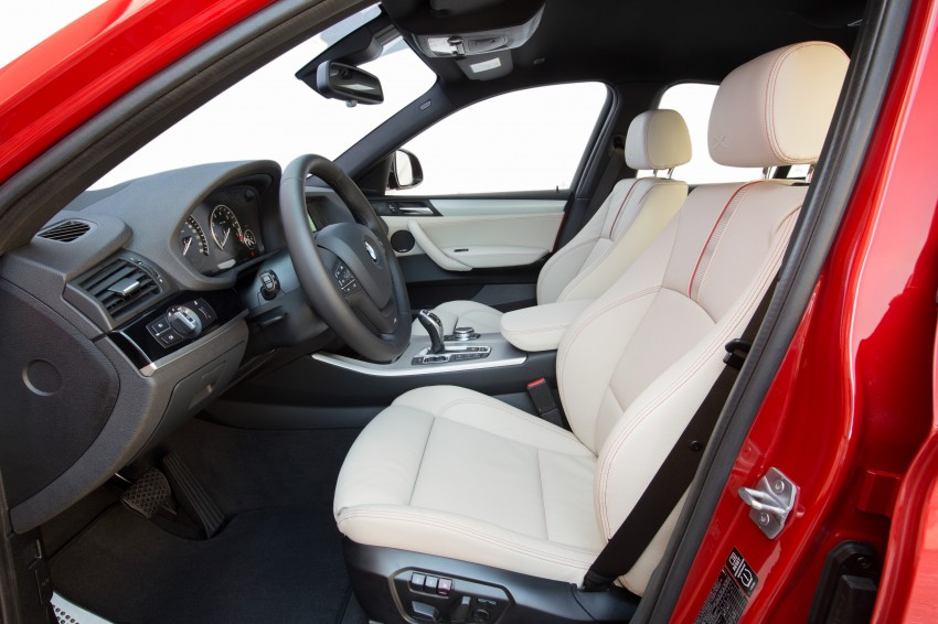 DRIVEN: F26 BMW X4 – the X3 redrawn as a 'coupe' Image #250039
