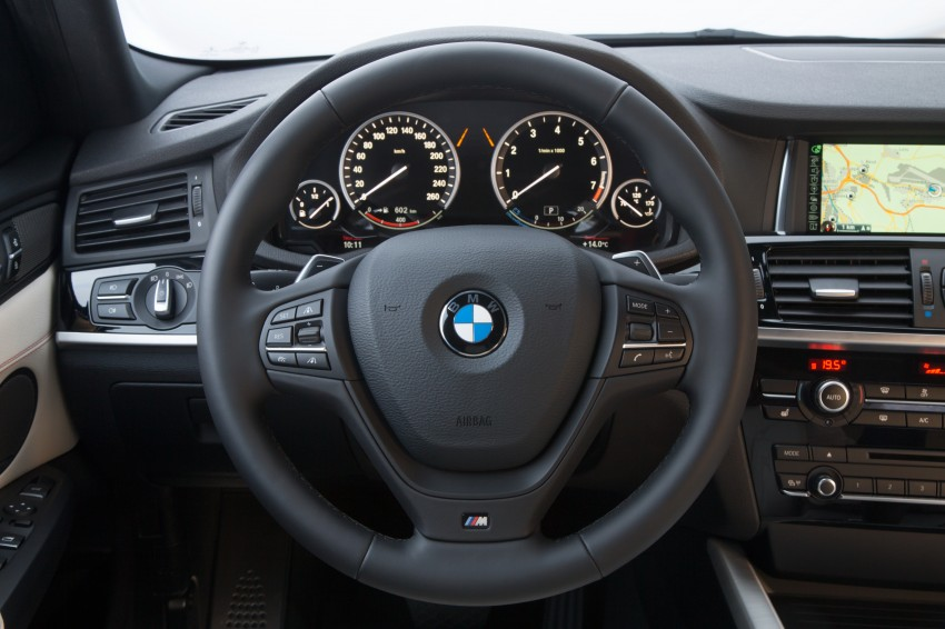 DRIVEN: F26 BMW X4 – the X3 redrawn as a 'coupe' Image #250064