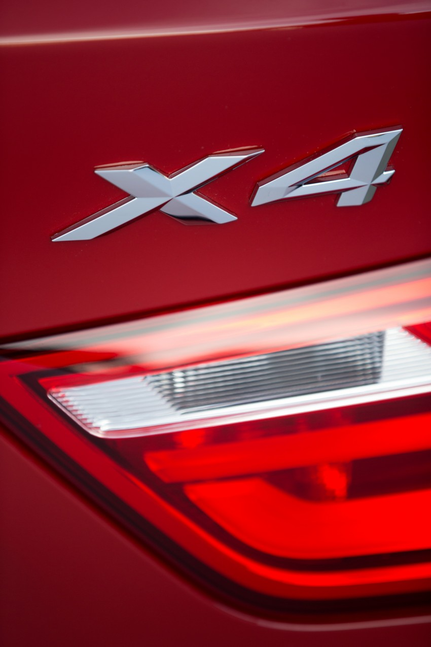 DRIVEN: F26 BMW X4 – the X3 redrawn as a 'coupe' Image #250122