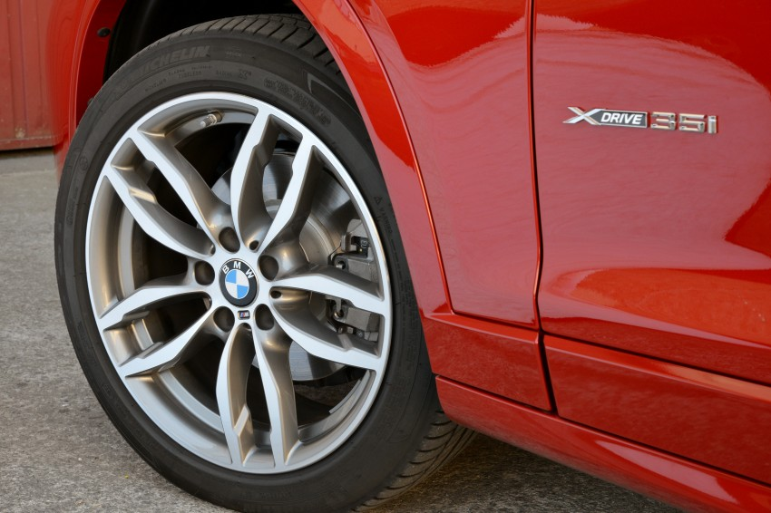 DRIVEN: F26 BMW X4 – the X3 redrawn as a 'coupe' Image #250031