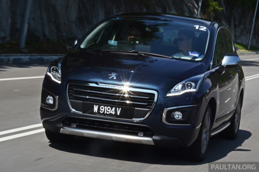 DRIVEN: Peugeot 3008 THP 165 facelift first drive Image #250206