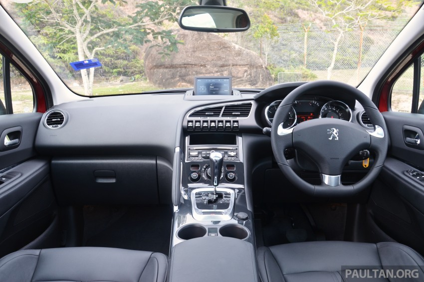 DRIVEN: Peugeot 3008 THP 165 facelift first drive Image #250216