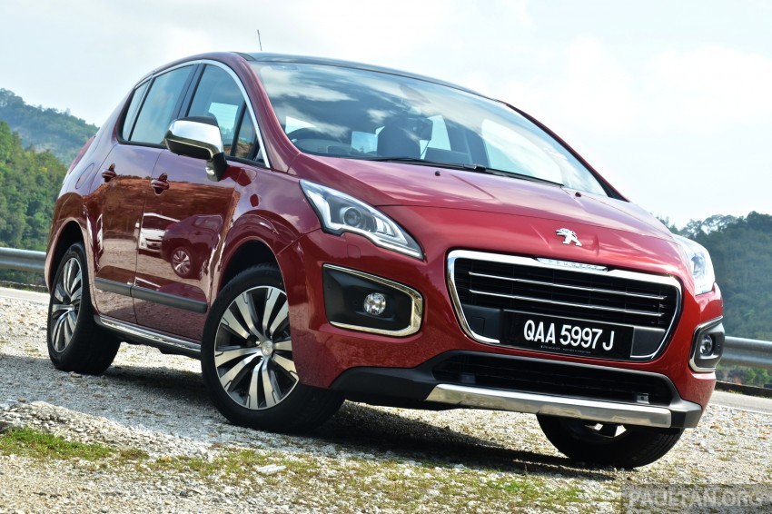 DRIVEN: Peugeot 3008 THP 165 facelift first drive Image #250375