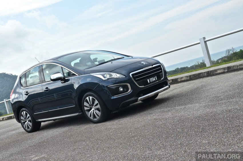 DRIVEN: Peugeot 3008 THP 165 facelift first drive Image #250220