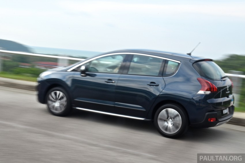 DRIVEN: Peugeot 3008 THP 165 facelift first drive Image #250222