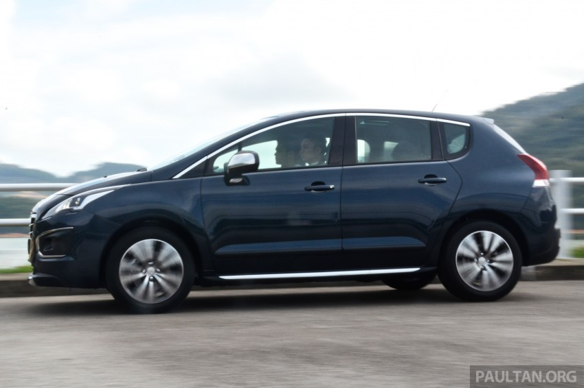 DRIVEN: Peugeot 3008 THP 165 facelift first drive Image #250223
