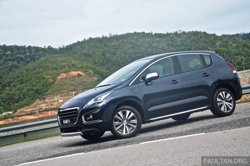 DRIVEN: Peugeot 3008 THP 165 facelift first drive Image #250224