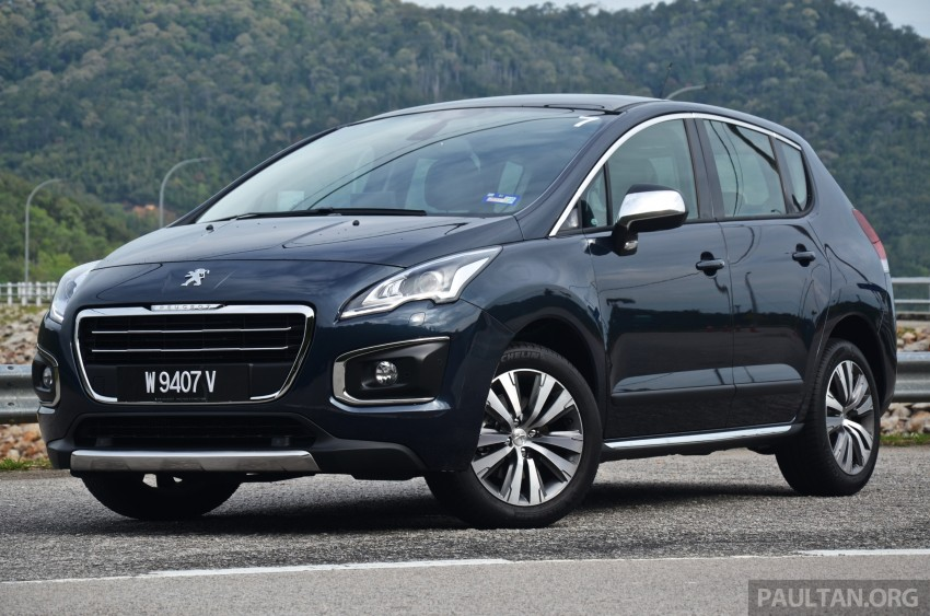 DRIVEN: Peugeot 3008 THP 165 facelift first drive Image #250225