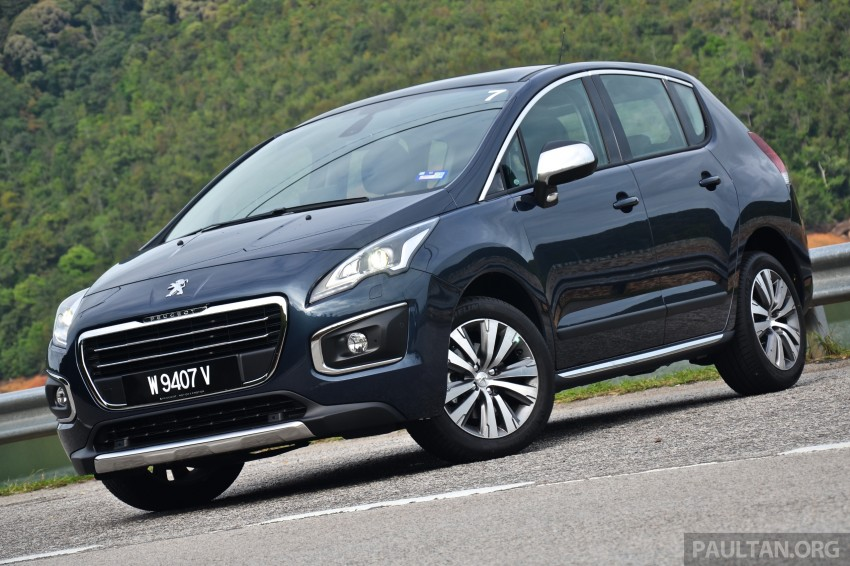 DRIVEN: Peugeot 3008 THP 165 facelift first drive Image #250226