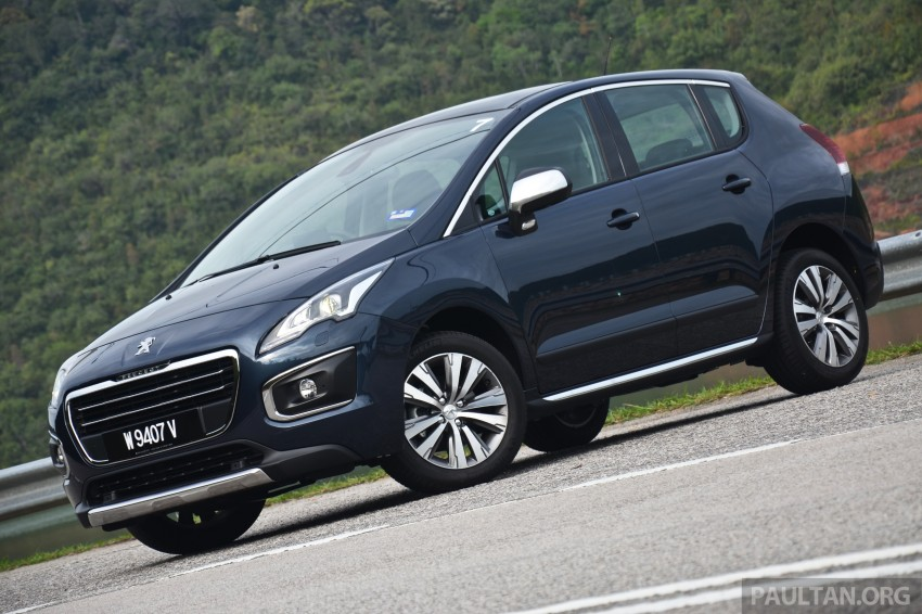 DRIVEN: Peugeot 3008 THP 165 facelift first drive Image #250227