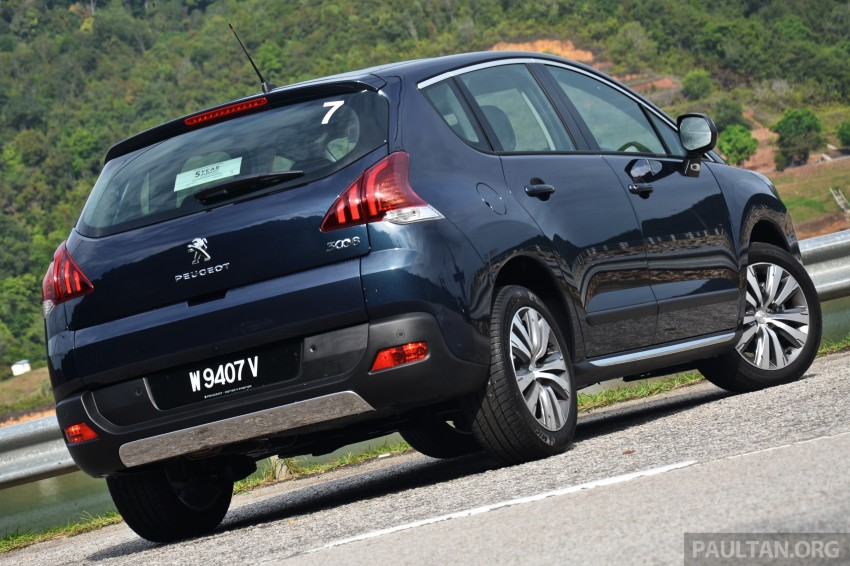 DRIVEN: Peugeot 3008 THP 165 facelift first drive Image #250376