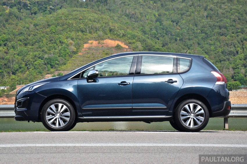 DRIVEN: Peugeot 3008 THP 165 facelift first drive Image #250230