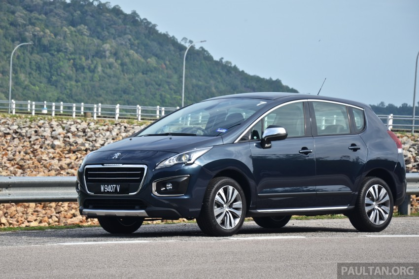 DRIVEN: Peugeot 3008 THP 165 facelift first drive Image #250231
