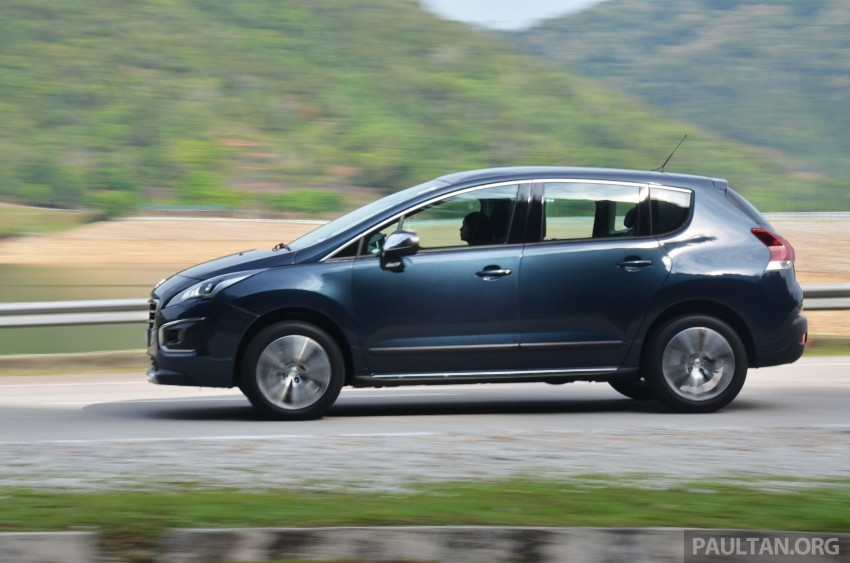 DRIVEN: Peugeot 3008 THP 165 facelift first drive Image #250232