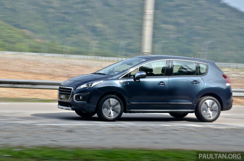 DRIVEN: Peugeot 3008 THP 165 facelift first drive Image #250234