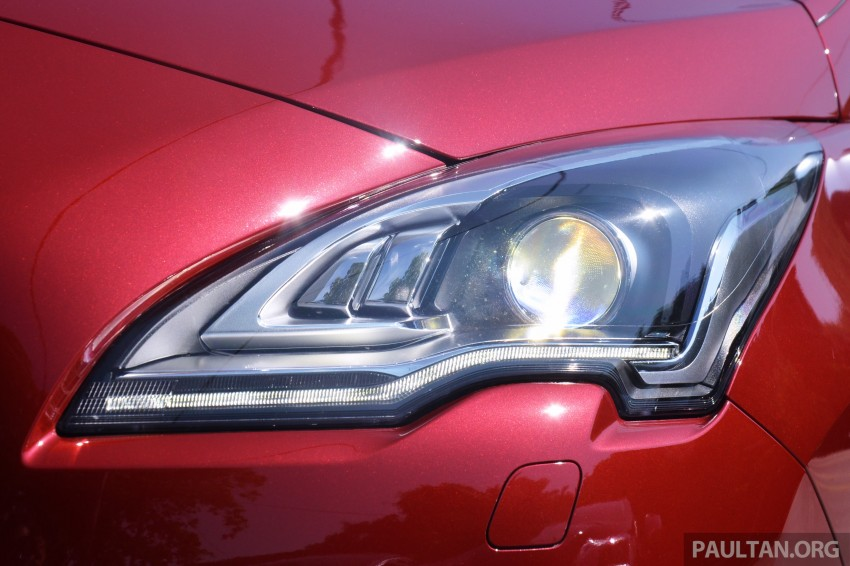 DRIVEN: Peugeot 3008 THP 165 facelift first drive Image #250208