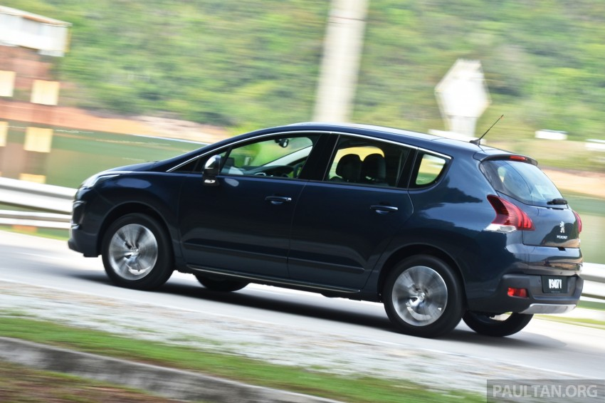 DRIVEN: Peugeot 3008 THP 165 facelift first drive Image #250235