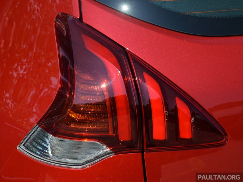 DRIVEN: Peugeot 3008 THP 165 facelift first drive Image #250209