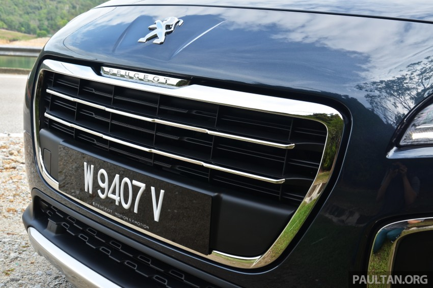 DRIVEN: Peugeot 3008 THP 165 facelift first drive Image #250266