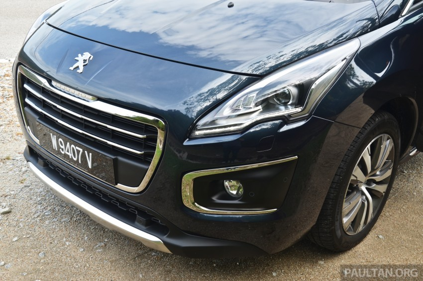 DRIVEN: Peugeot 3008 THP 165 facelift first drive Image #250267