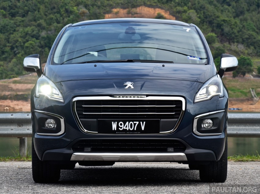 DRIVEN: Peugeot 3008 THP 165 facelift first drive Image #250338