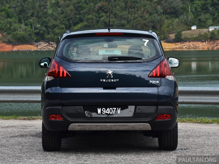 DRIVEN: Peugeot 3008 THP 165 facelift first drive Image #250337