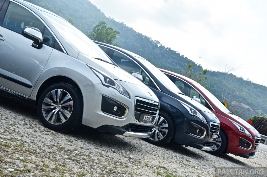 DRIVEN: Peugeot 3008 THP 165 facelift first drive Image #250214