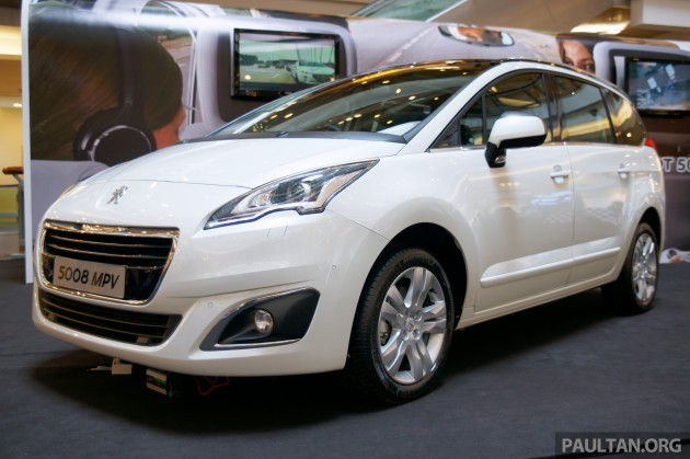 facelifted peugeot 5008 officially launched rm160k. Black Bedroom Furniture Sets. Home Design Ideas