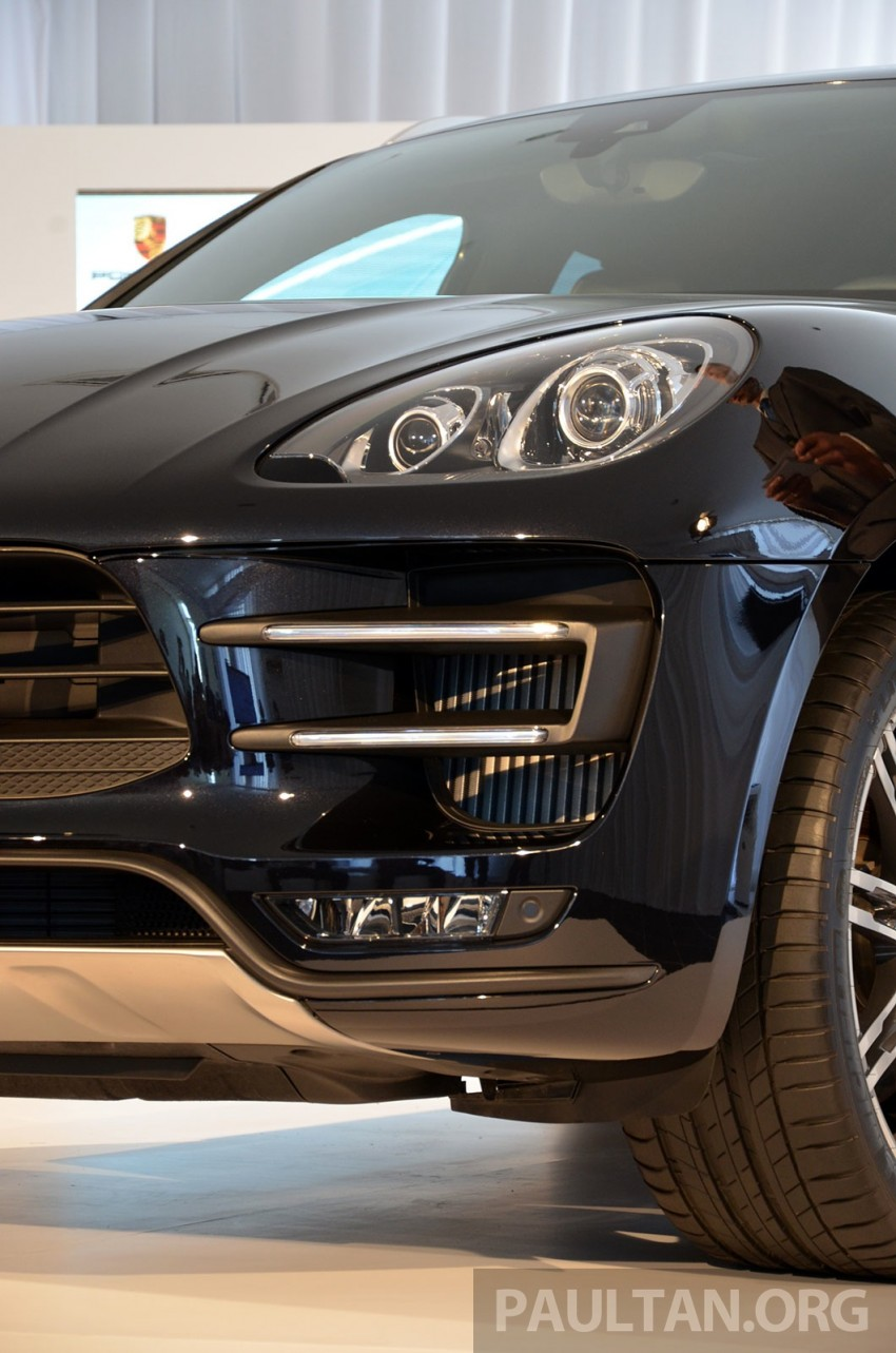 Porsche Macan previewed in Malaysia – four variants including 4-cylinder turbo, launching in Q4 2014 Image #246401