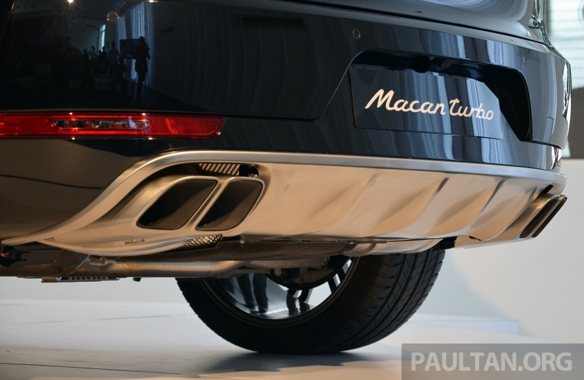 Porsche Macan previewed in Malaysia – four variants including 4-cylinder turbo, launching in Q4 2014 Image #246410