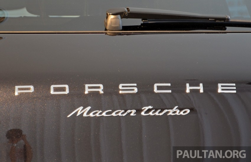 Porsche Macan previewed in Malaysia – four variants including 4-cylinder turbo, launching in Q4 2014 Image #246411