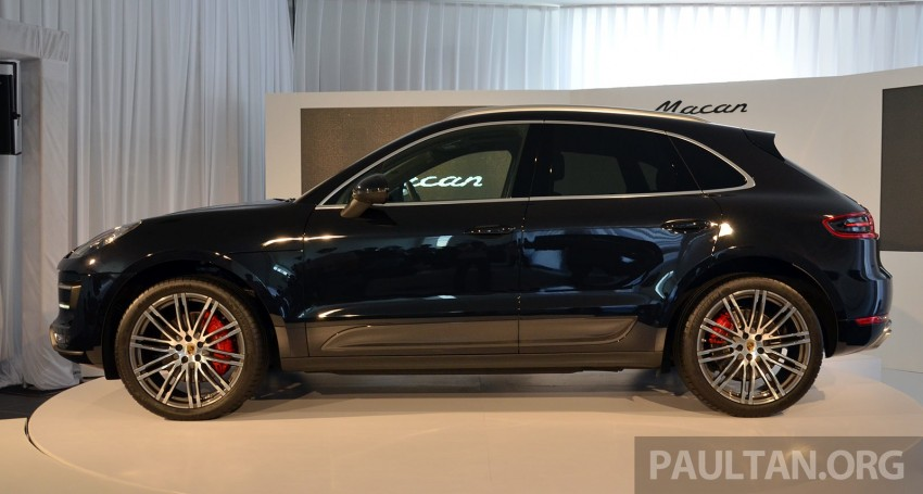 Porsche Macan previewed in Malaysia – four variants including 4-cylinder turbo, launching in Q4 2014 Image #246412