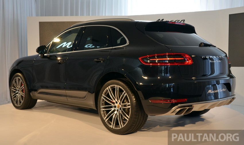 Porsche Macan previewed in Malaysia – four variants including 4-cylinder turbo, launching in Q4 2014 Image #246413