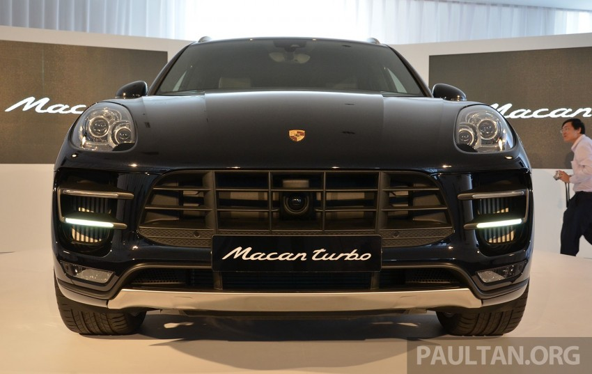 Porsche Macan previewed in Malaysia – four variants including 4-cylinder turbo, launching in Q4 2014 Image #246414