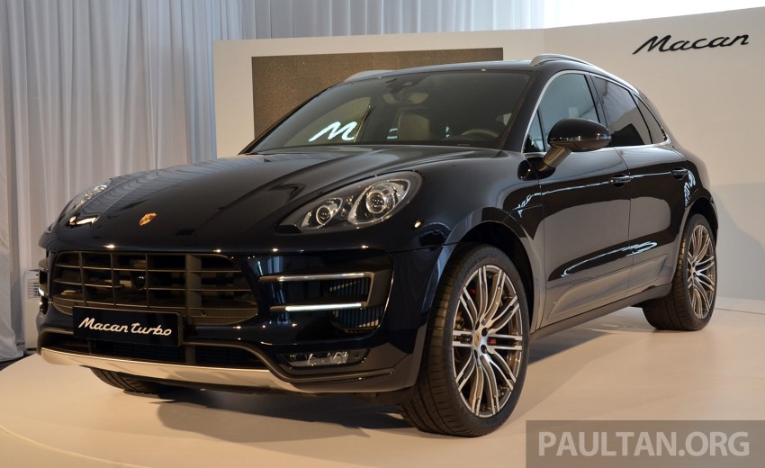 Porsche Macan previewed in Malaysia – four variants including 4-cylinder turbo, launching in Q4 2014 Image #246415