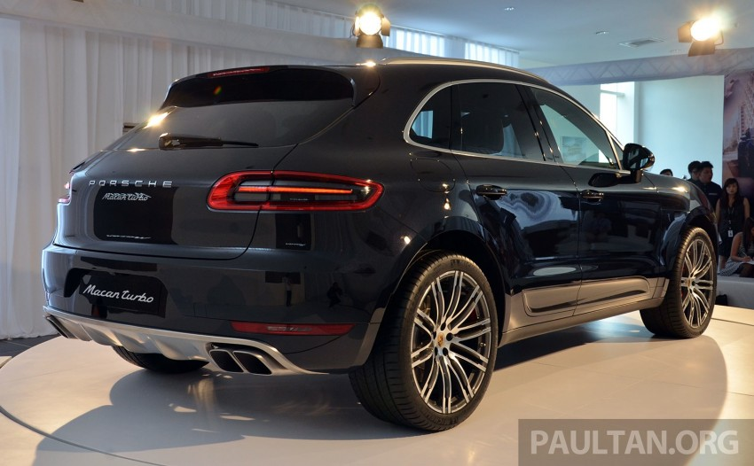 Porsche Macan previewed in Malaysia – four variants including 4-cylinder turbo, launching in Q4 2014 Image #246416